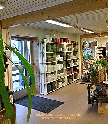 junsele blomsterbutik