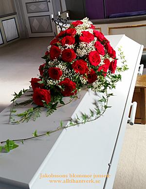 Kistdekoration  junsele blomsterbutik