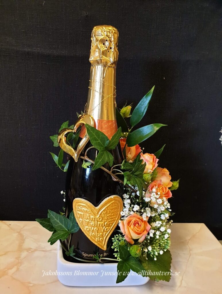 Flaskdekoration, Junsele blomsterbutik