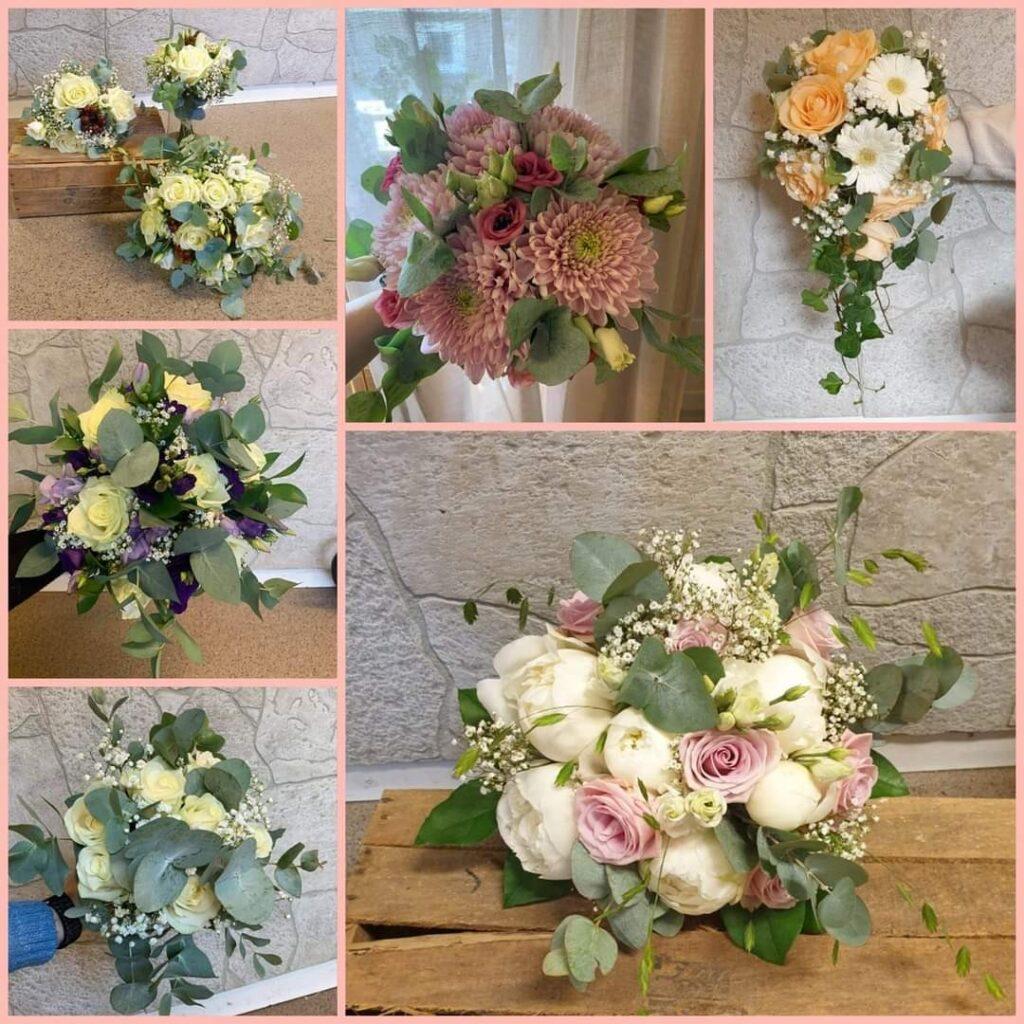 junsele blomsterbutik Brudbuketter